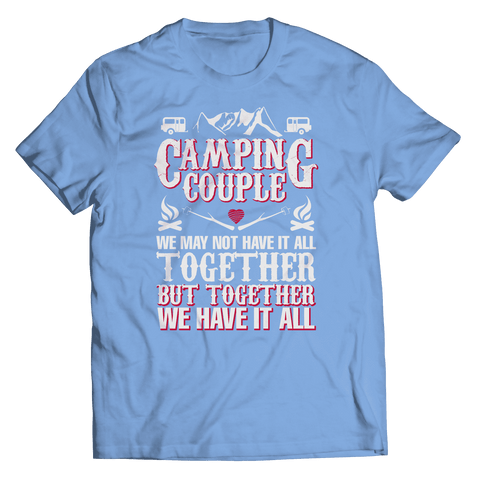 Camping Couple T Shirt
