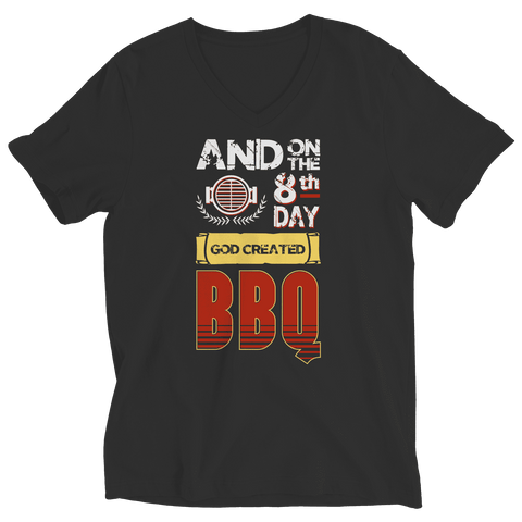 And On The 8th Day God Created BBQ T Shirt