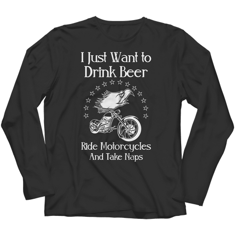 Image of Drink Beer Ride Motorcycles
