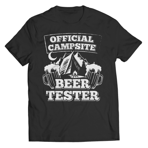 Image of Campsite Beer Tester T Shirt