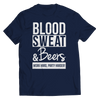 Blood Sweat & Beers Work Hard, Party Harder T Shirt