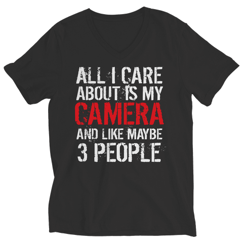 All I Care About Is My Camera T Shirt
