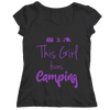 This Girl Loves Camping T Shirt