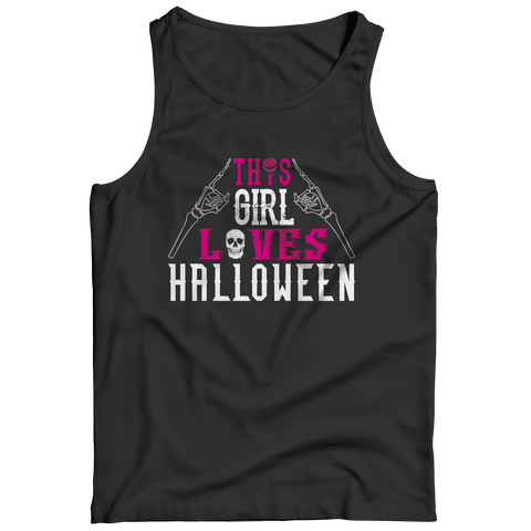 This Girl Loves Halloween T Shirt