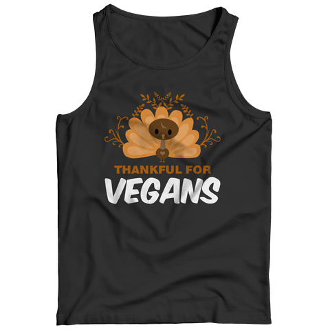 Image of Thankful For Vegans T Shirt