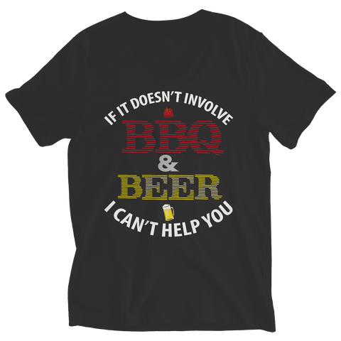 Image of BBQ And Beer T Shirt