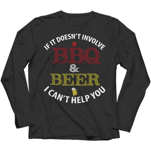 BBQ And Beer T Shirt