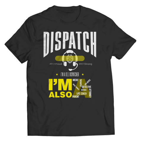 Image of Dispatch 911 T Shirt