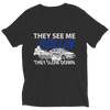 They see me rollin, they slow down police t shirt