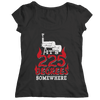 It's 225 Degrees Somewhere BBQ T Shirt