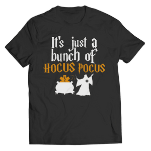 It's Just a Bunch of Hocus Pocus EMT Halloween T Shirt