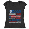 Police Officers Courageous T Shirt