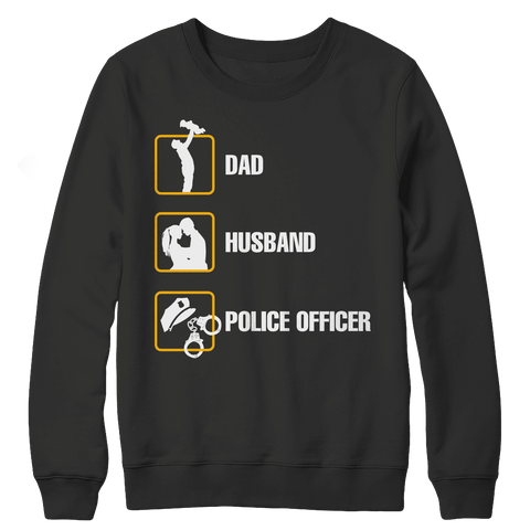 Dad Husband Police Officer