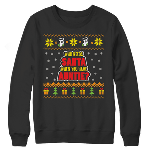 Auntie Ugly Christmas Sweaters