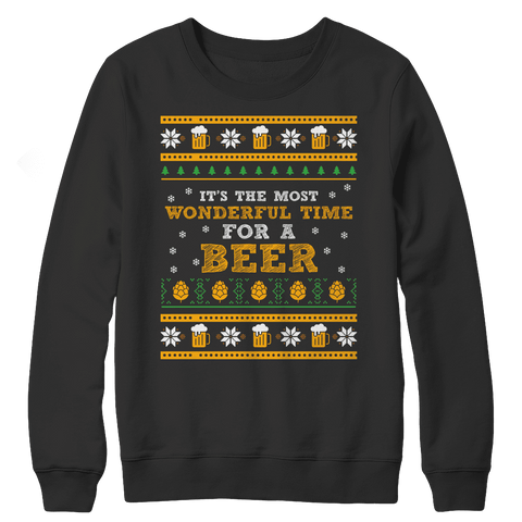 Beer Time Ugly Christmas Sweaters
