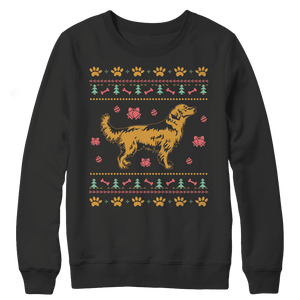 Golden Retriever Ugly Christmas Sweaters