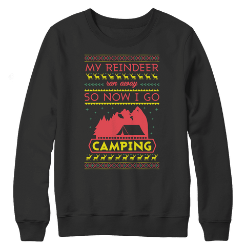 Camping Ugly Christmas Sweaters