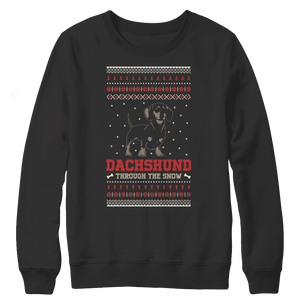 Dachshund Ugly Christmas Sweaters