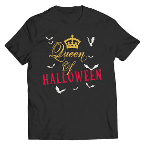 Queen Of Halloween T Shirt
