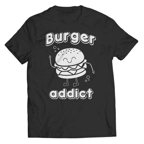 Burger Addict T Shirt