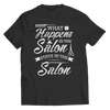 What Happens In The Saloon Stays In The Saloon T Shirt