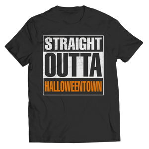 Straight Outta Halloween Town T Shirt