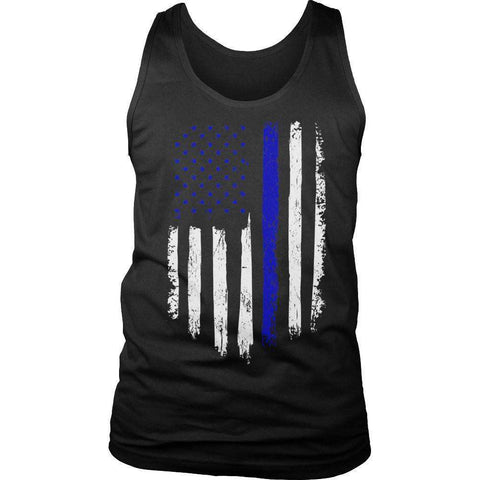 Image of Police Flag T Shirt