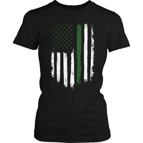 Image of Soldier Flag T Shirt