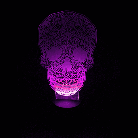Calavera LED Lamps