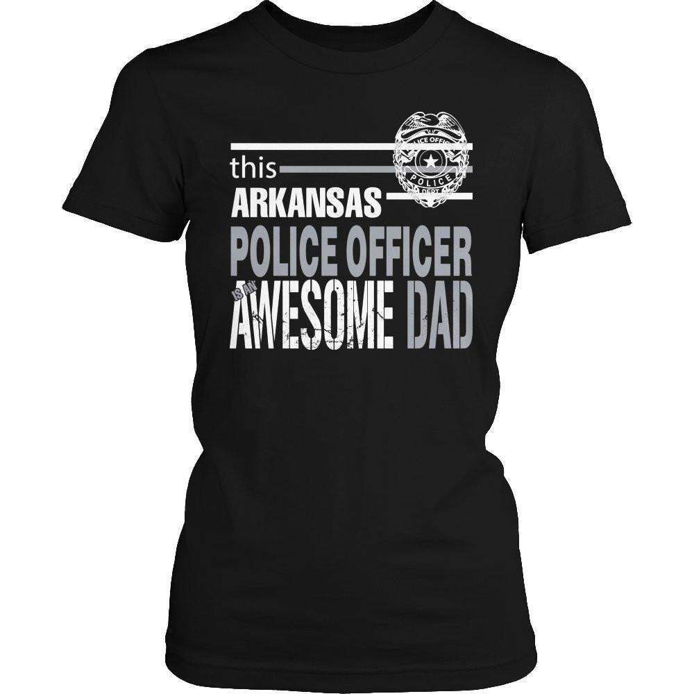 This Arkansas Police Officer Is An Awesome Dad T Shirt