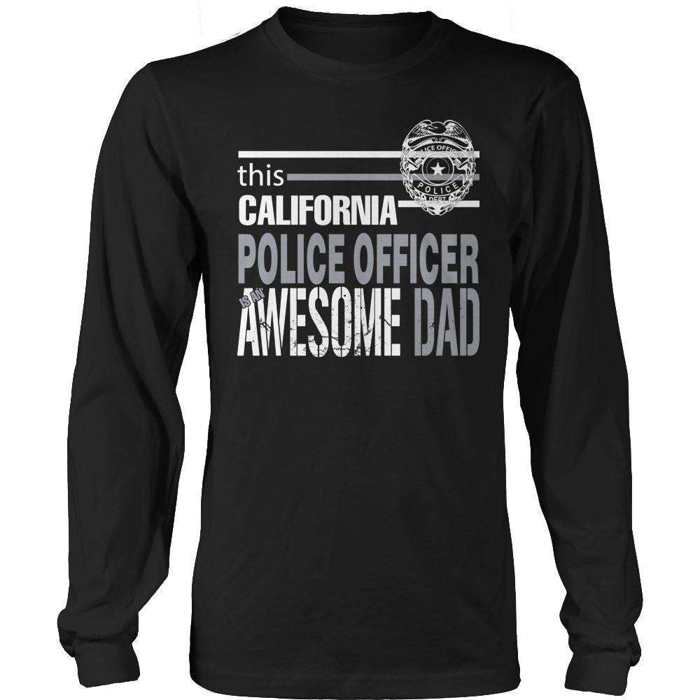 This Colorado Police Officer Is An Awesome Dad T Shirt