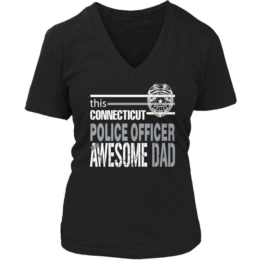This Connecticut Police Officer Is An Awesome Dad T Shirt
