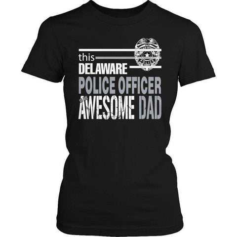 Image of This Delaware Police Officer Is An Awesome Dad T Shirt