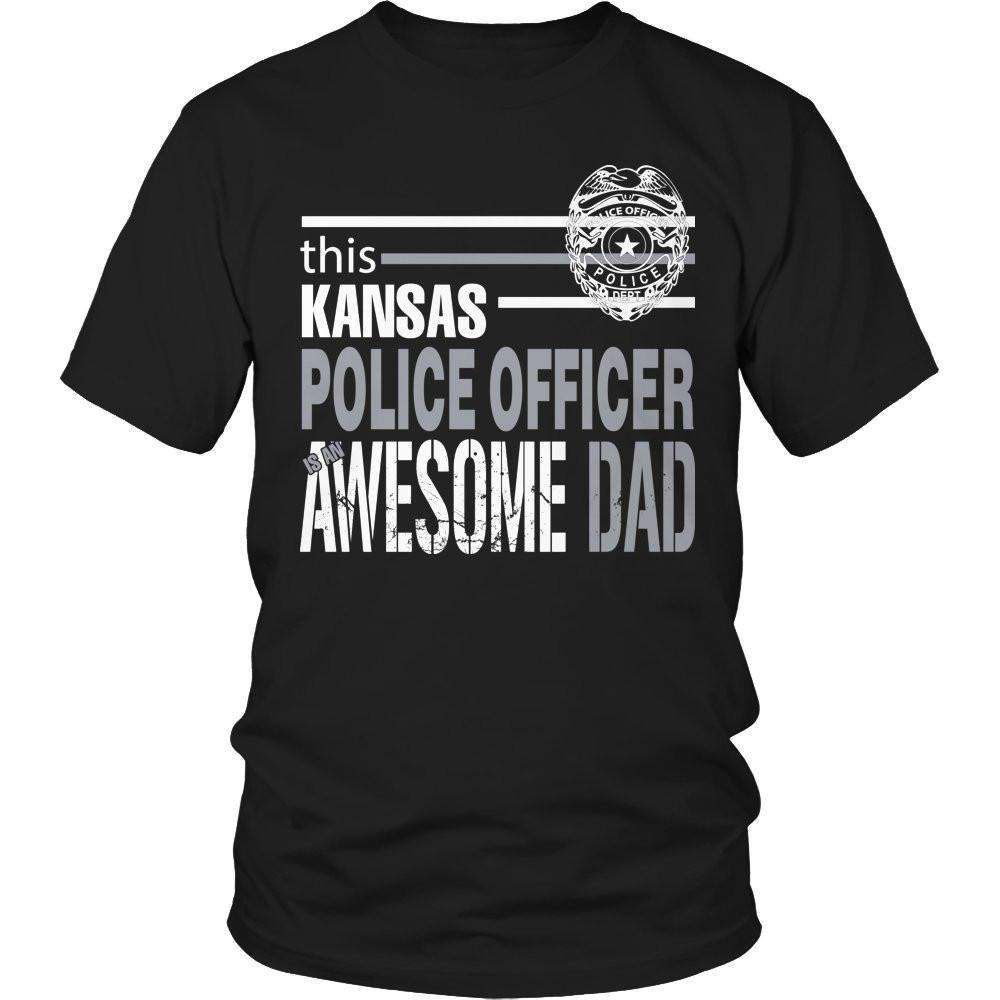 This Kansas Police Officer Is An Awesome Dad T Shirt