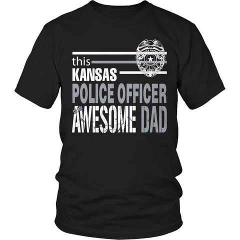 Image of This Kansas Police Officer Is An Awesome Dad T Shirt
