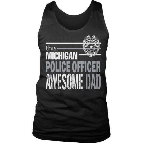 Image of This Michigan Police Officer Is An Awesome Dad T Shirt