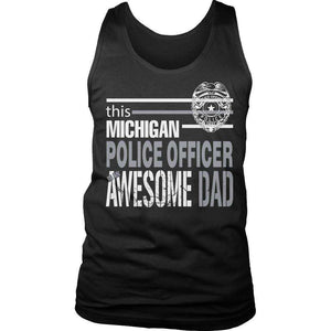 This Michigan Police Officer Is An Awesome Dad T Shirt