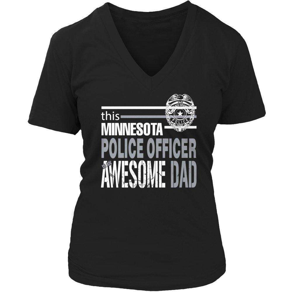 This Minnesota Police Officer Is An Awesome Dad T Shirt