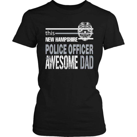 Image of This New Hampshire Police Officer Is An Awesome Dad T Shirt