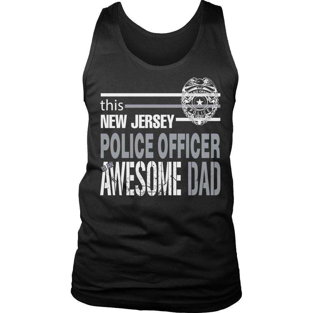 This New Jersey Police Officer Is An Awesome Dad T Shirt