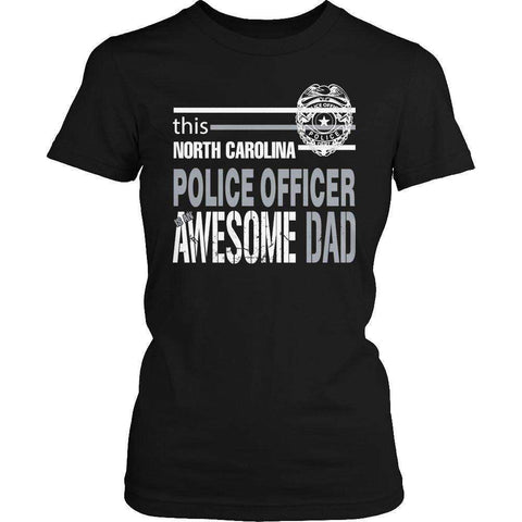 Image of This North Carolina Police Officer Is An Awesome Dad T Shirt-Hi Siena