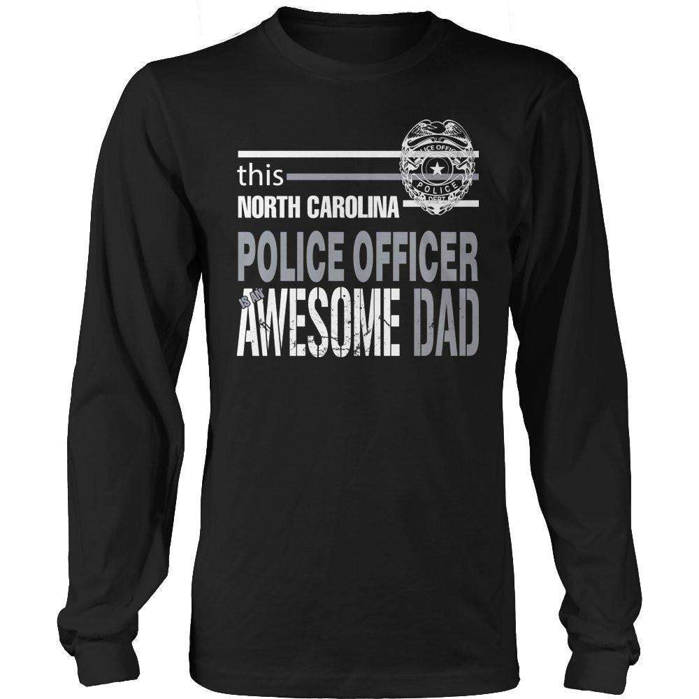 This North Carolina Police Officer Is An Awesome Dad T Shirt