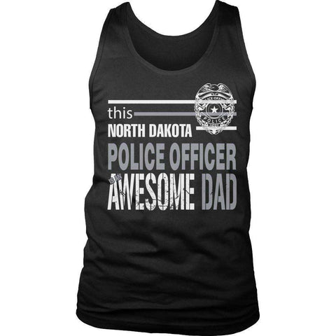 Image of This North Dakota Police Officer Is An Awesome Dad T Shirt