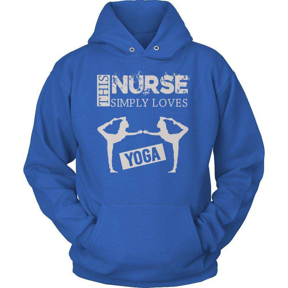 This Nurse Simply Loves Yoga T Shirt
