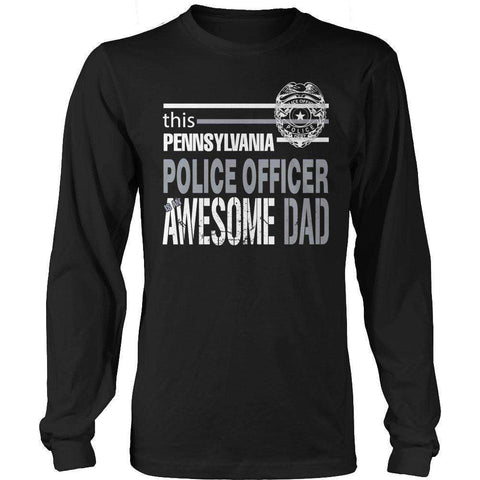 Image of This Pennsylvania Police Officer Is An Awesome Dad T Shirt