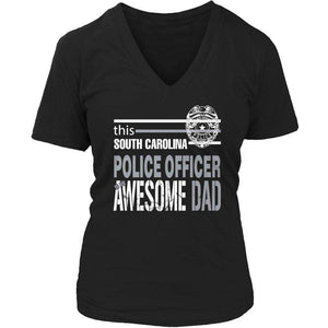 This South Carolina police officer is an awesome dad T Shirt