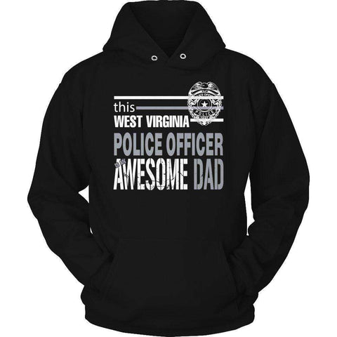 Image of This West Virginia police officer is an awesome dad T Shirt