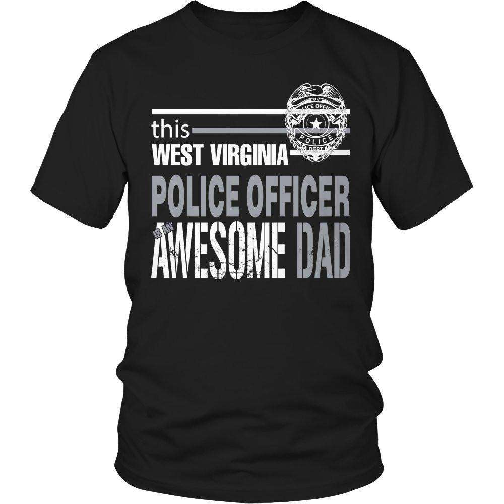 This West Virginia police officer is an awesome dad T Shirt