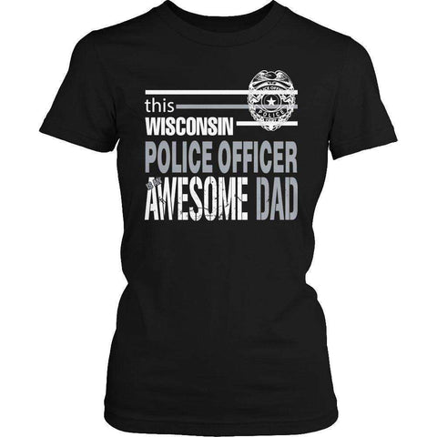 Image of This Wisconsin police officer is an awesome dad T Shirt