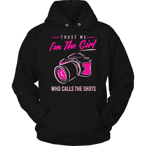 Image of Trust Me I'm The Girl Who Calls The Shots T Shirt-Hi Siena